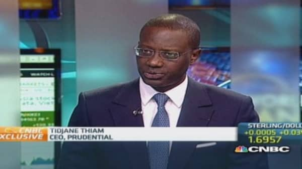 Diversification is beneficial to Prudential: CEO