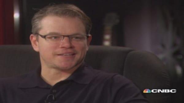 CNBC Meets: Matt Damon, part two