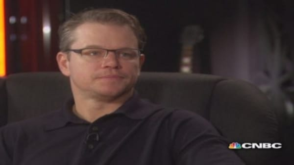 CNBC Meets: Matt Damon, part one