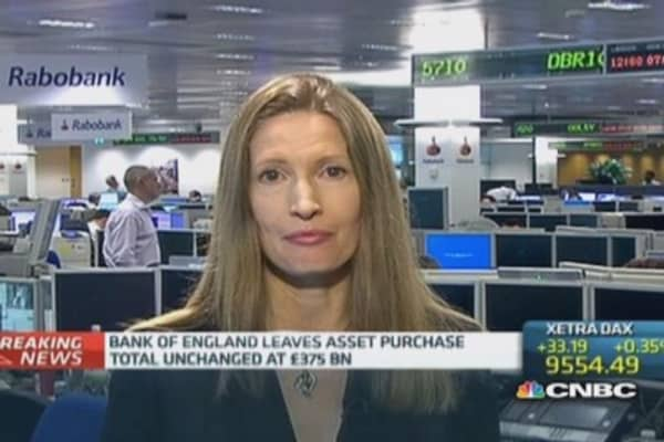 Bank of England leaves interest rates on hold