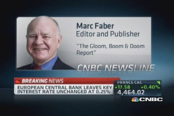 Faber: Cash most underappreciated asset