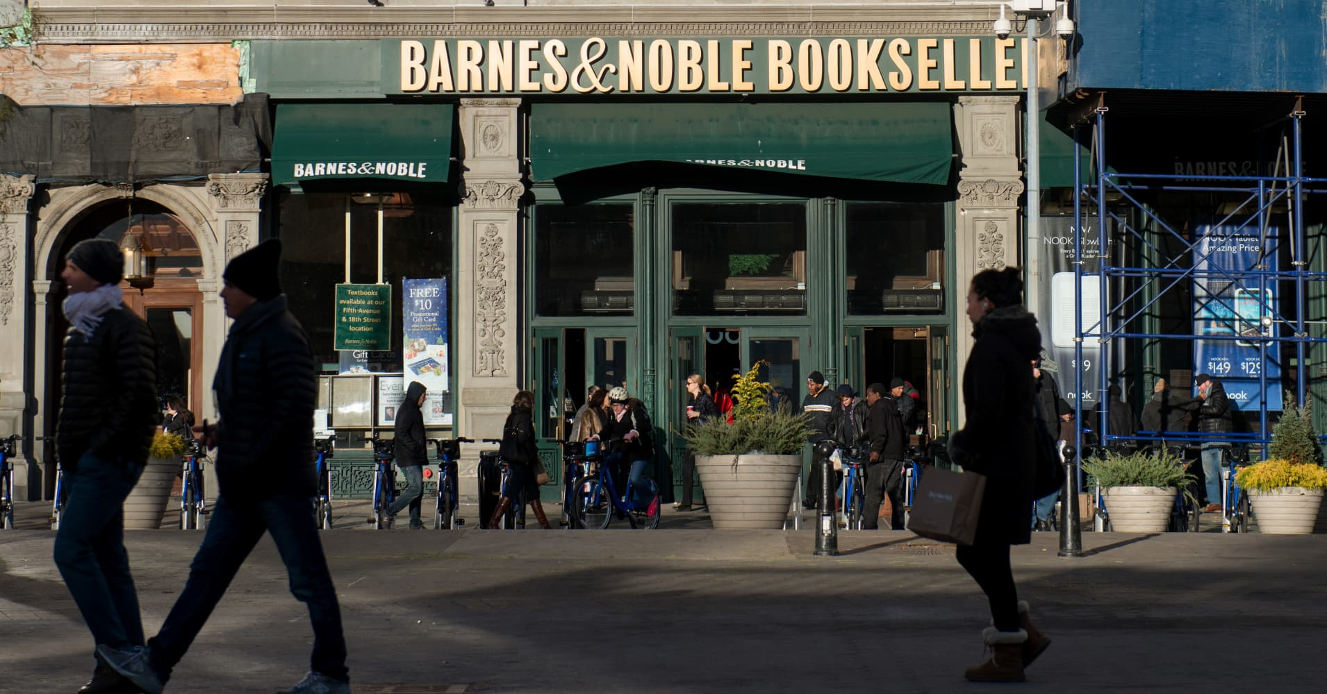 Barnes & Noble says sales of books related to anxiety are soaring