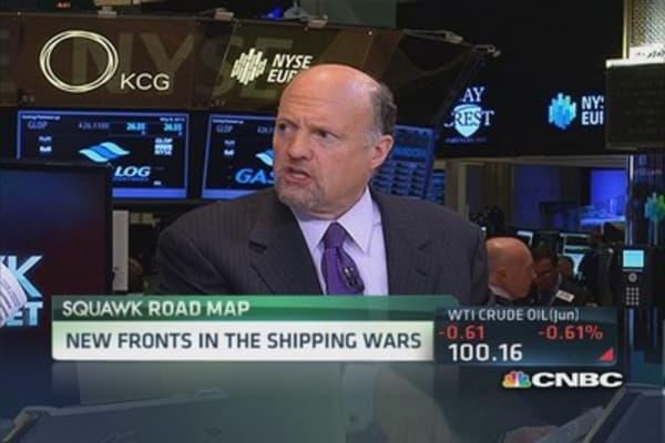 Cramer: Amazon wants to cut out FDX & UPS
