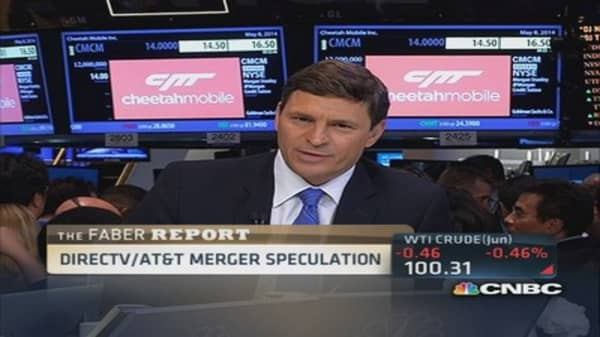 Faber Report: DirecTV/AT&T merger speculation