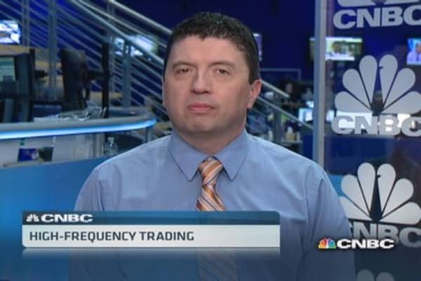 The fight over high-frequency trading