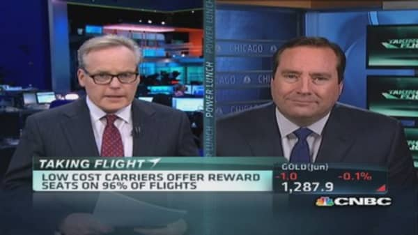 More flights for frequent flyer awards