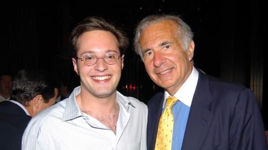 Brett Icahn and Carl Icahn in 2004.