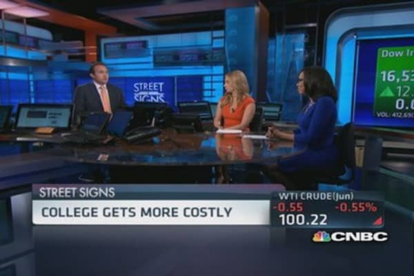 College gets more expensive