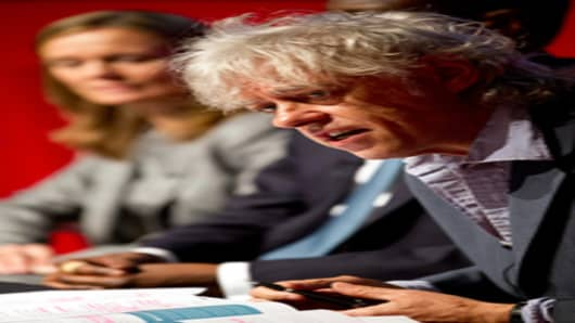 Sir Bob Geldof, Africa Progress Panel Member
