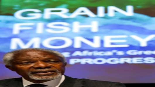 Mr. Kofi Annan, Chairman of Africa Progress Panel