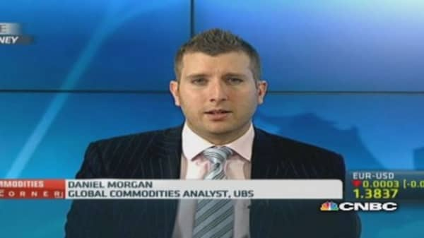 See gold on a trend of decline: UBS