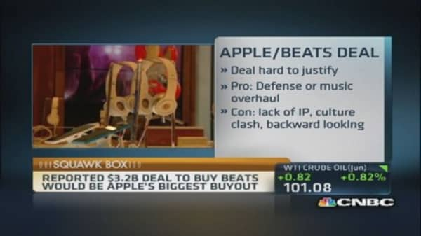 Apple in talks to buy Beats for $3.2B?