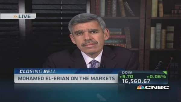 Mohamed El-Erian's view of the market