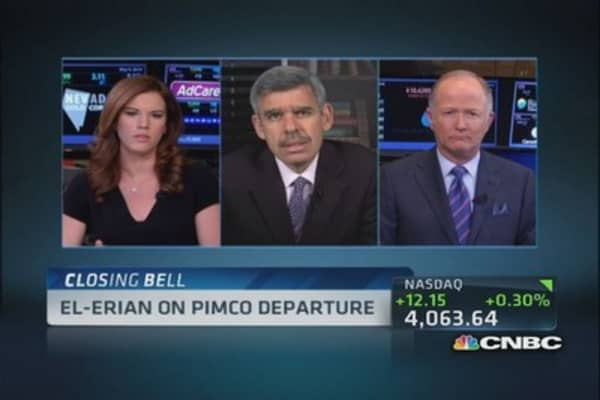 El-Erian says emerging markets 'volatile'