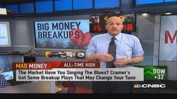 Break-ups can unlock tremendous value: Cramer