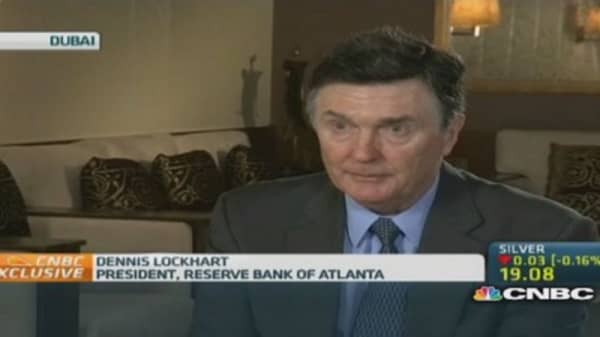 Lockhart: Hopeful about meeting inflation target