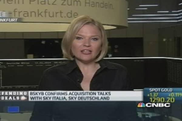 BSkyB confirms it is eyeing European TV merger