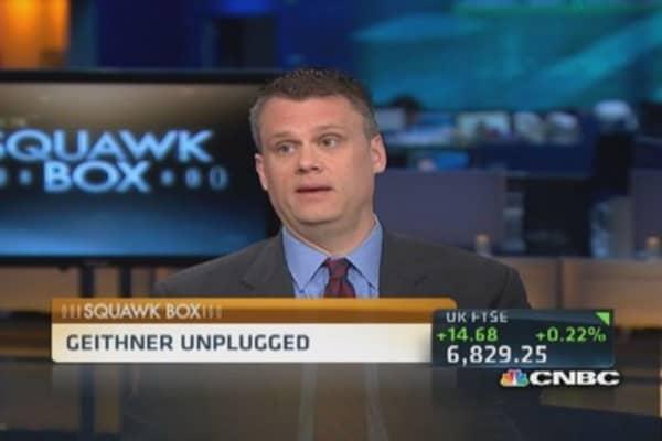 Geithner's book unplugged