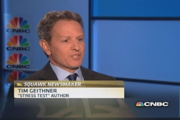 'Stress Test' on the record: Geithner