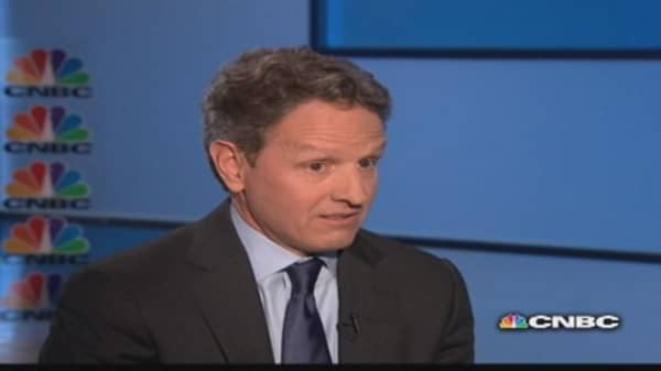 Geithner on corporate taxes and the economy