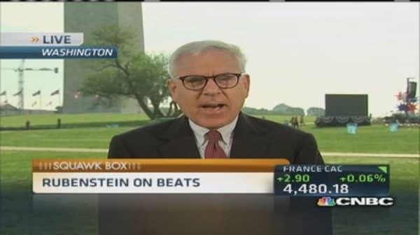 Beats go on for Rubenstein