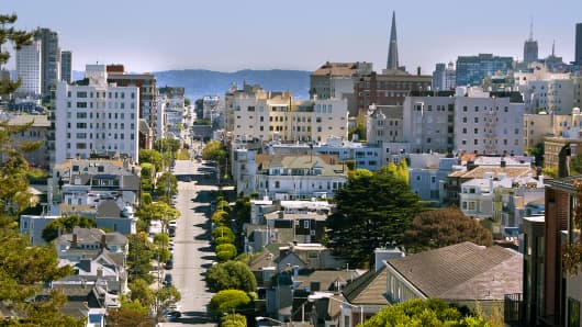 Pacific Heights neighborhood.