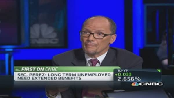 Labor Secretary: Great demand in skilled trades