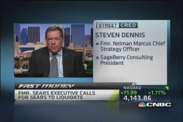 Fmr. Sears exec: Time to liquidate