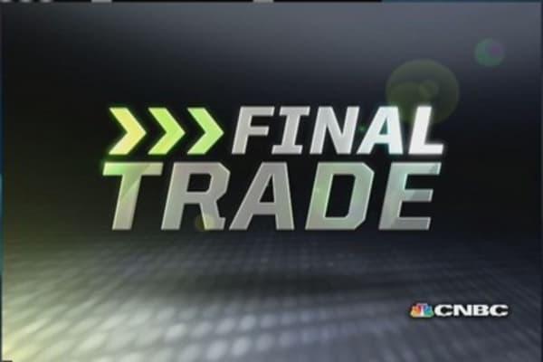 Fast Money Final Trade: POT, GDX, GLPI, X