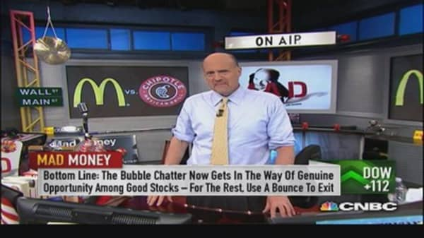 Use any prolonged bounce to sell: Cramer