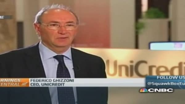 Unicredit will pass stress tests 'without major problems': CEO