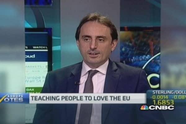 'Brand EU' not strong enough: Expert