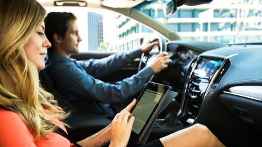 OnStar 4G LTE in a 2015 Cadillac ATS