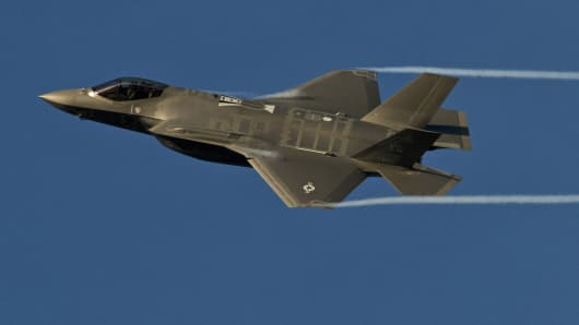 An F-35A Lightning II