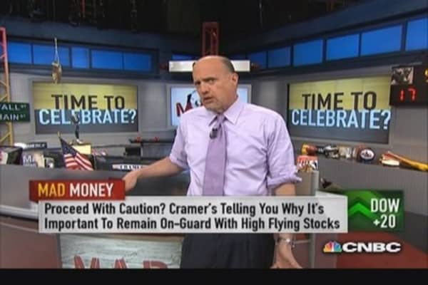 Cramer's 'all-time high' game plan