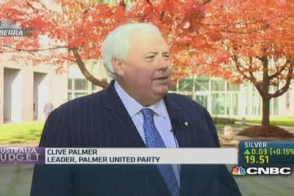 Palmer: Australia's budget is 'based on lies'