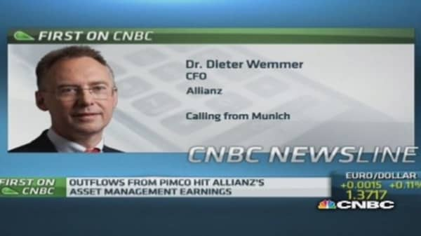 'Not concerned' about Pimco outflows: Allianz CFO