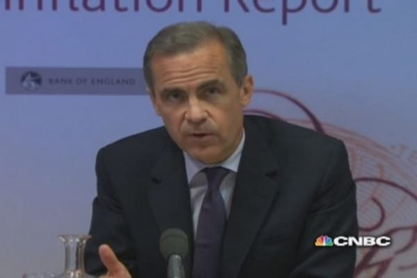 Exchange rate to affect pace of UK recovery: Carney