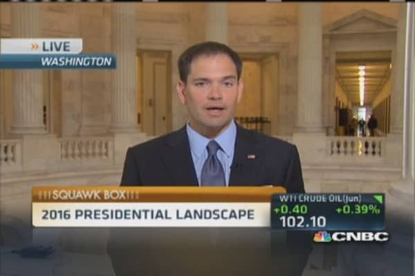 Rubio: Obama's foreign policy a 'failure'