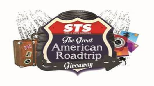 STS The Great American Roadtrip Giveaway logo