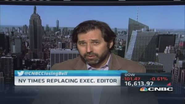 The NY Times replaces executive editor