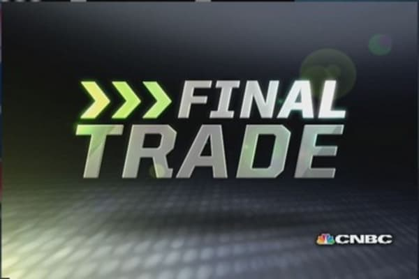 Fast Money Final Trade: TLT, CSH