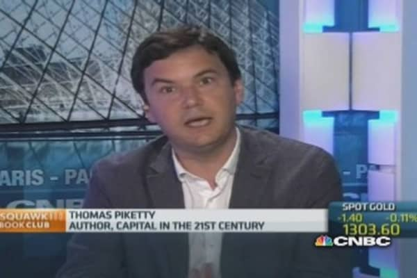 'Extreme' inequality bad for growth: Piketty