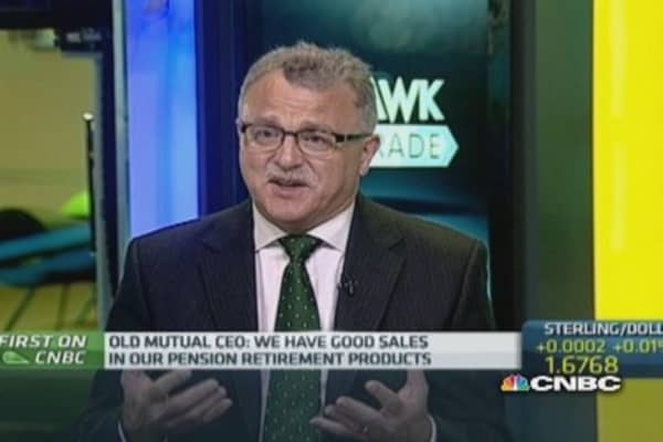 UK pension reform will benefit Old Mutual: CEO