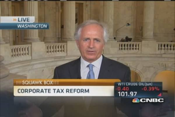 Sen. Corker: We may pass corporate tax reform