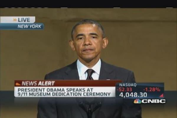 Pres. Obama commemorates 9/11 museum