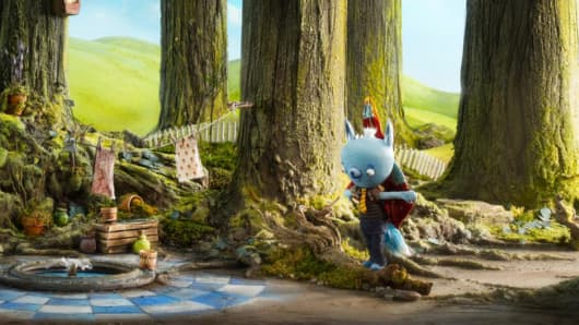 "Scene from Amazon's ""Tumble Leaf"""