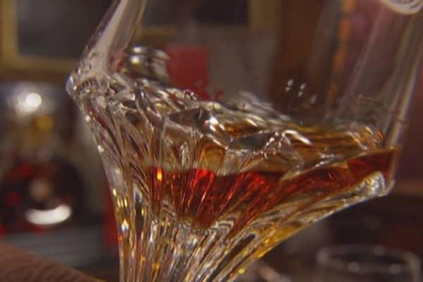 The proper way to drink cognac