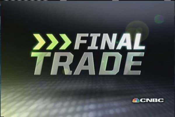 Fast Money Final Trade: GT, TM