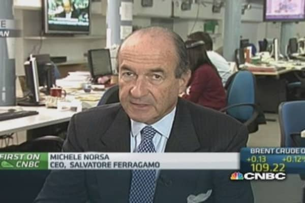 Less Russians in European stores: Salvatore Ferragamo CEO